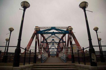 Salford Quays bridge low res