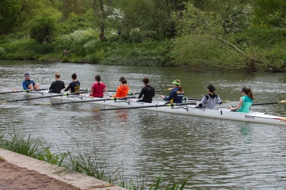 130 rowers in Oxford