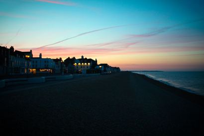 156 sunset in Deal, Kent web