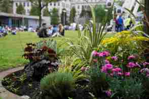 182 picnic in Piccadilly Gardens web