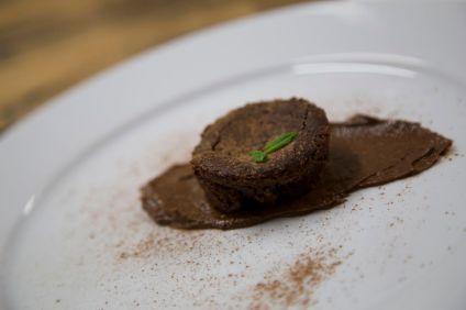 277 dessert at Cowherds vegetarian cafe bistro night web