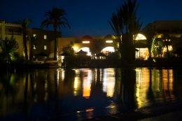 283 the pool at night web