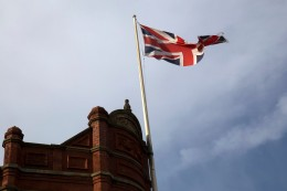 301 Union flag in Denton web